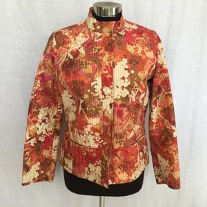 Sigrid Olsen Collection Floral Jacket  8P